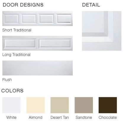 Value Plus Series Door Options